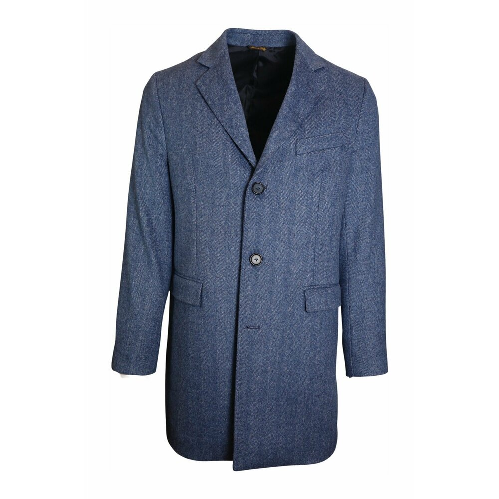 Single-breasted coat with lapels J.w.sax Milano