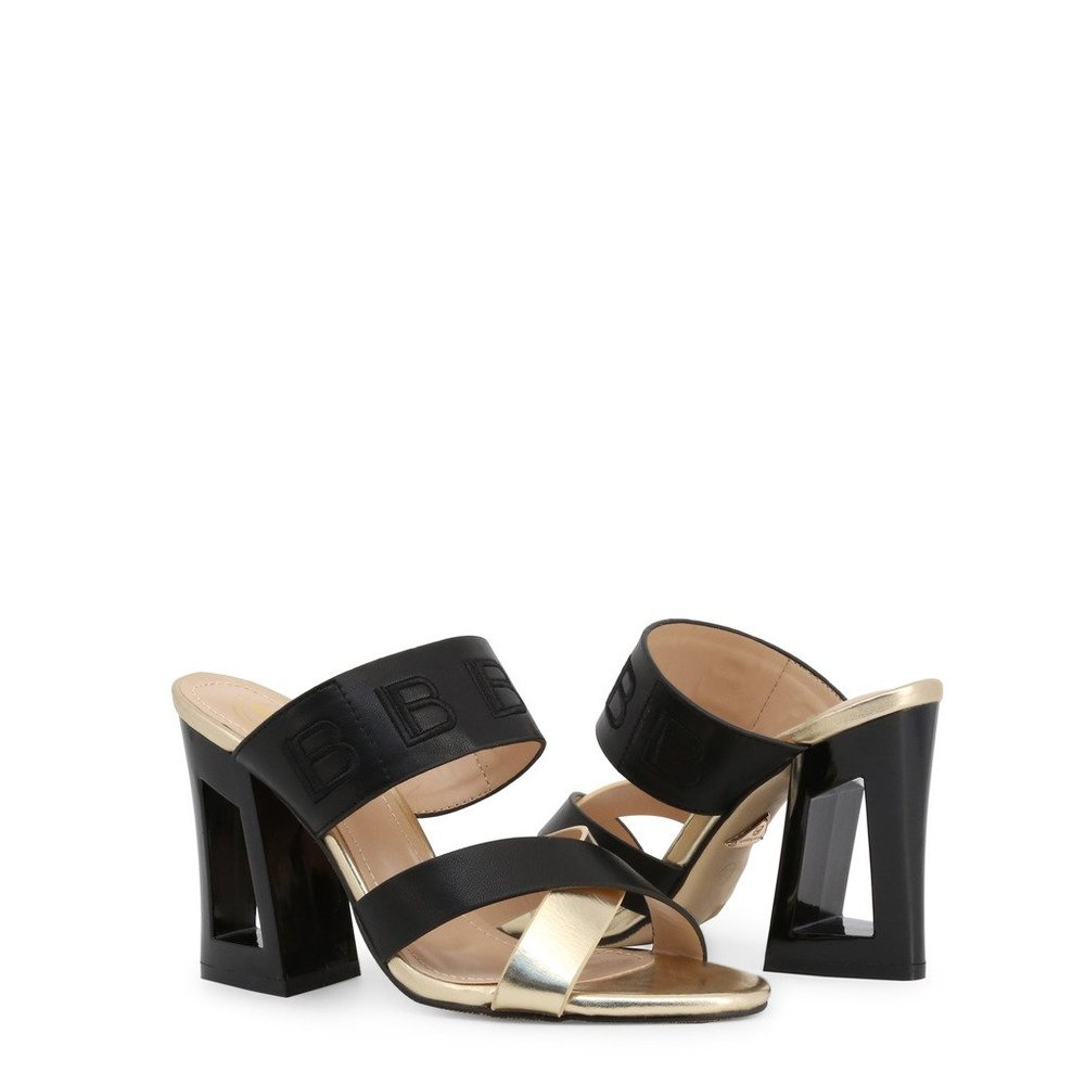 Black Sandals 6297   Laura Biagiotti   High Heel Sandals   Women's shoes