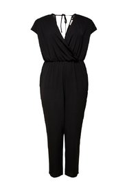 Jumpsuit Curvy solid colored