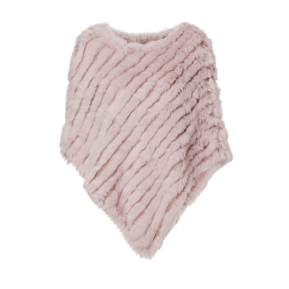 HOLLIES Poncho Pink