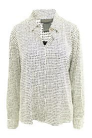 Polka Dot Shirt -Pre Owned Condition Good L
