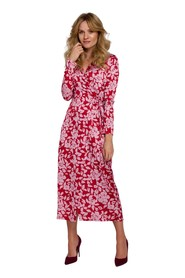 Sukienka Kopertowa Maxi