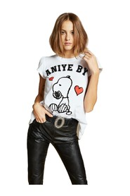 ROUND SNOOPY T-SHIRT