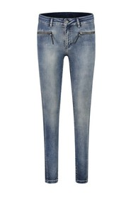 ELIN SATIN DENIM JEANS