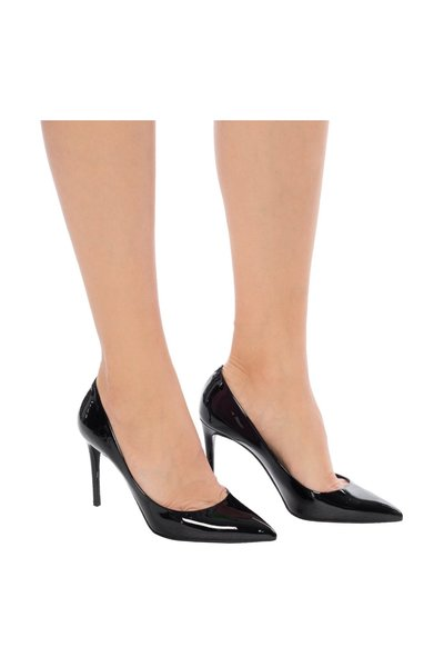 BLACK Pointed toe stiletto pumps | Dolce & Gabbana | Pumps