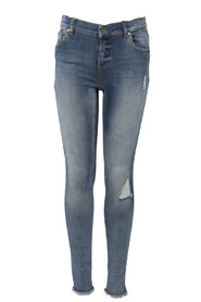 KONBLUSH SKINNY RAW REA333 Medium Blue Denim JEANS