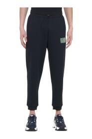 Pantalon sportswear logo patché