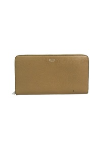 Calfskin Multifunction Long Wallet