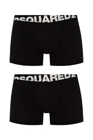 Boxers two-pack with logo