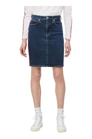 CALVIN KLEIN JEANS J20J212562 PENCIL SKIRT SKIRT Women DENIM MEDIUM BLUE