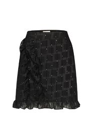 Silke check mini skirt