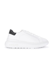 Bounce men's sneaker in white leather