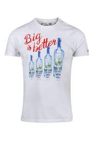 Hvit Saint Barth Big Better 3633 T-Shirt K/A
