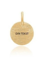 Your text pendant Gold plated
