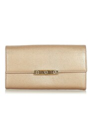 Pre-owned Love Leather Wallet