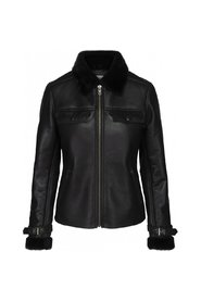 Angella læder jakke