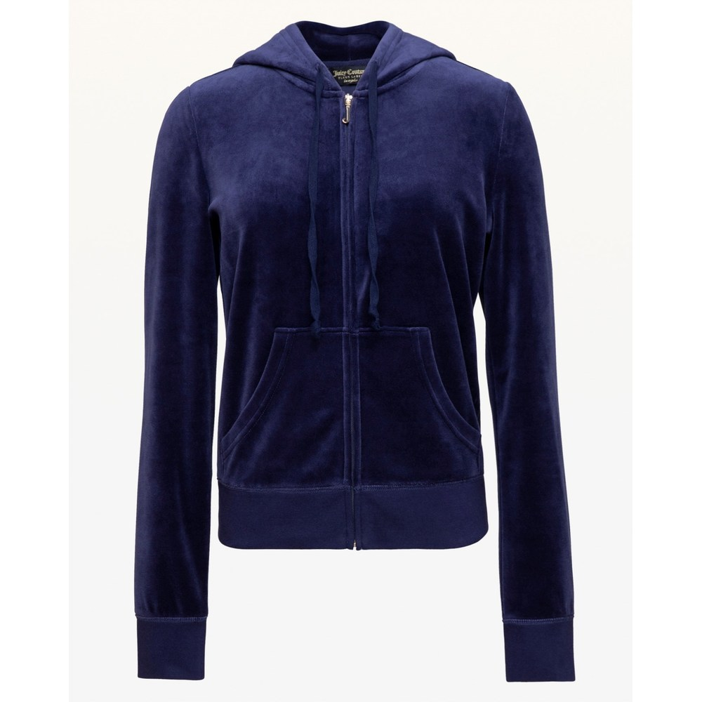 Trk velour robertson jacket dark blue - Juicy Couture