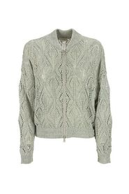 Dazzling Lace Effect cardigan