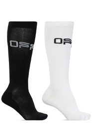 Branded socks two-pack