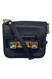 pre-owned cross body with silver hardware