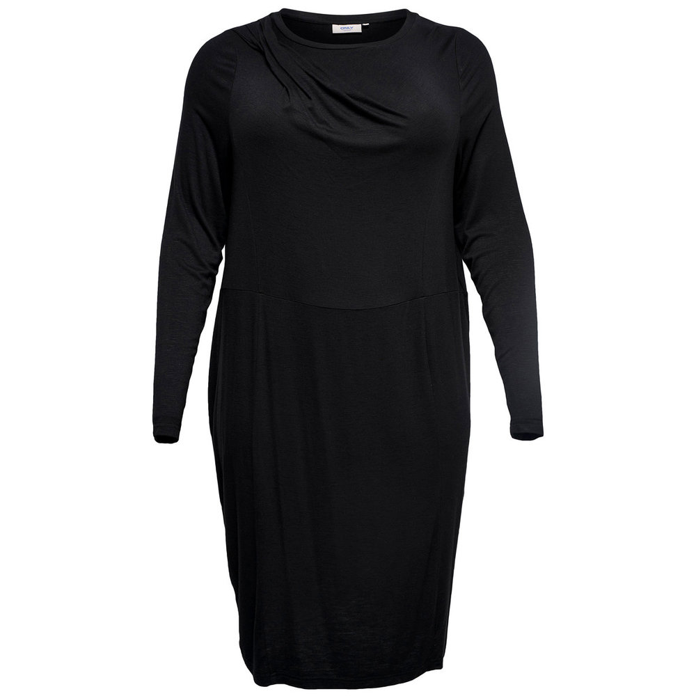 Knitted Dress Curvy long sleeved