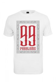 99 Problems T-shirt | Hvid