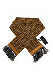 Silk Fringes Wrap Scarf