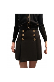 Bridge skirt with golden buttons