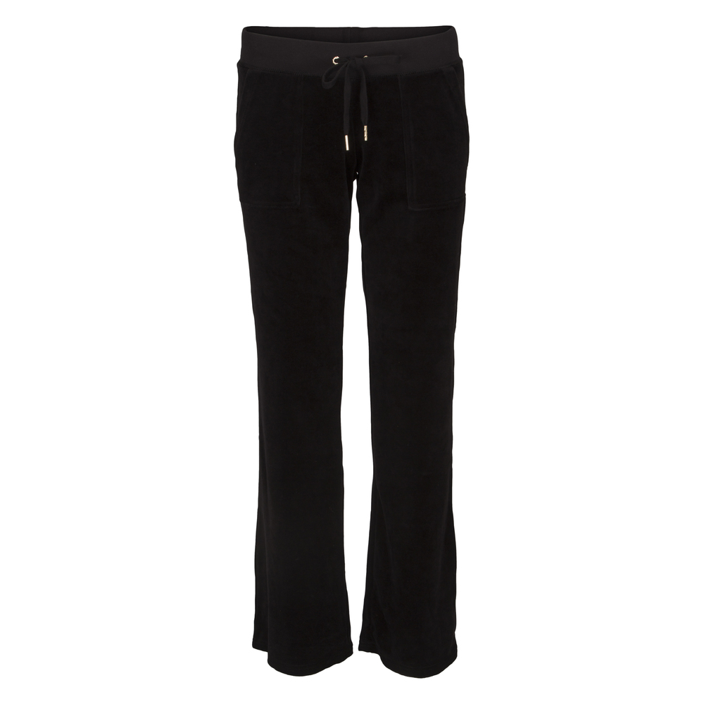 Juicy Couture J Bling DR Velour Pant Svart