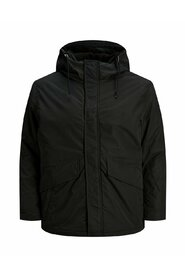 Plus size parka Hooded