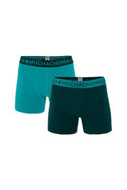 2-pack Solid Boxershorts