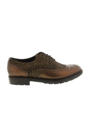 Veterschoenen brown