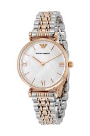 Gianni Two-Hand Two-Tone Stainless Steel Watch