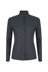 Jane Lushka U719AW110 Blouse Grey roezel detail