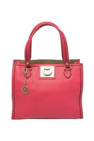 Leather Middle Zip Tote