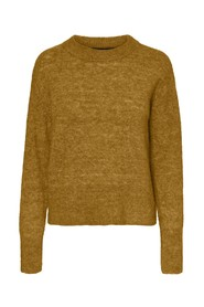 Fasta Ls O-Neck blus Knit