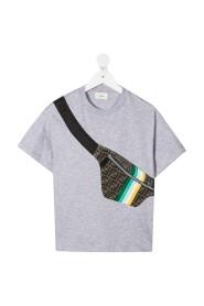 T-shirt met riemtas