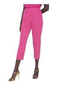 Pantaloni crop da completo