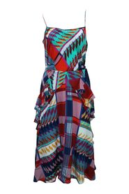 Dress with Spaghetti Shoulder Straps