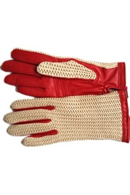 Chrochet glove with wool lining, Gaucho