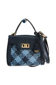 Signature Satchel Mini 35T8GKRS5L Handbag,Shoulder Bag