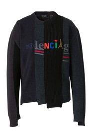Assorted Knits Logo Sweater