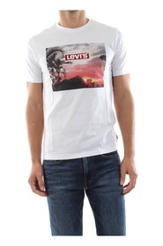LEVIS 22491 0640 TEE BOX T SHIRT AND TANK Men nd