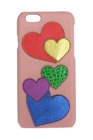 Leather Heart Phone Cover