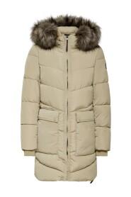 Onlnewroona Quilted Coat Jakke