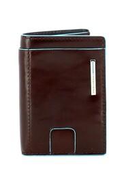 Blue Square RFID Credit Card Holder
