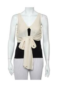 Front Tie Detail Sleeveless Top
