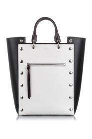 Large Studded Maple Tote Bag Leather Calf