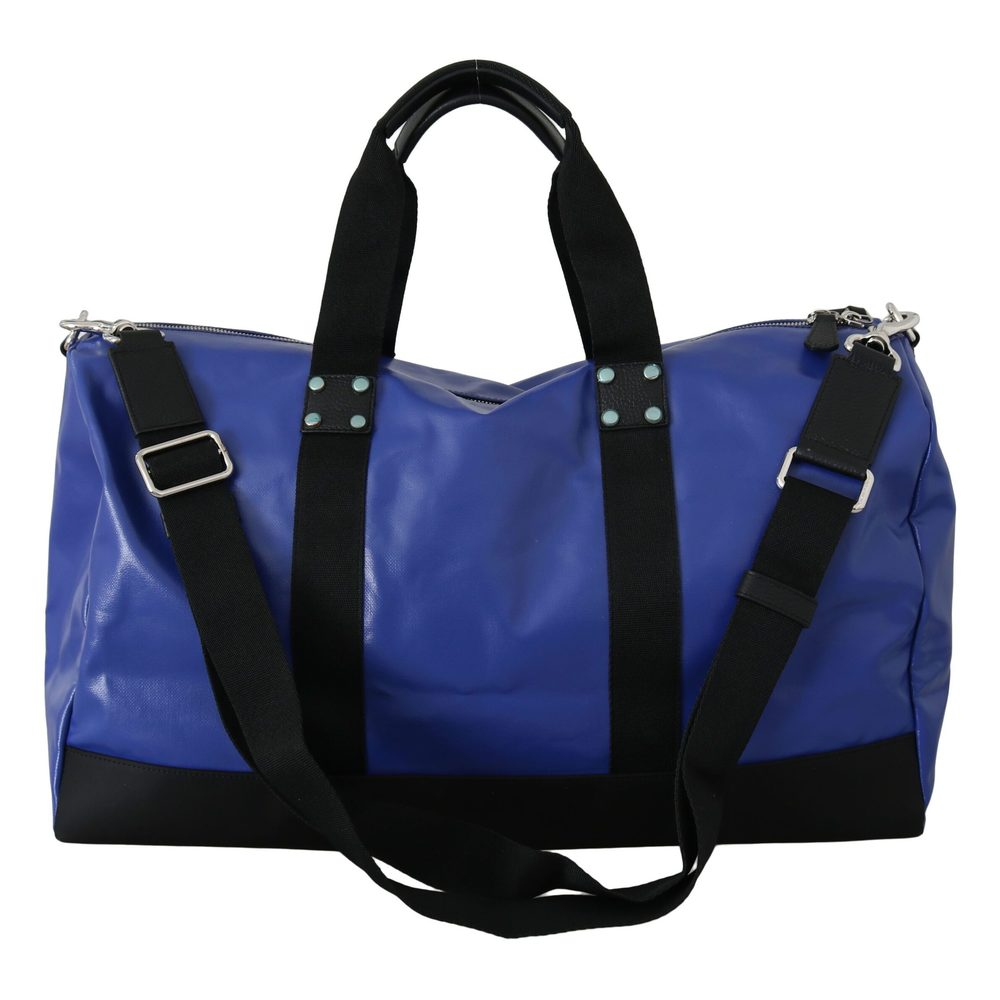 Blue Shoulder Sling Travel Luggage Cotton Bag | Dolce  Gabbana | Weekendtassen | Herentassen