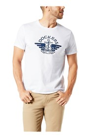 DOCKERS 32931 LOGO PAPER T SHIRT AND TANK Men WHITE